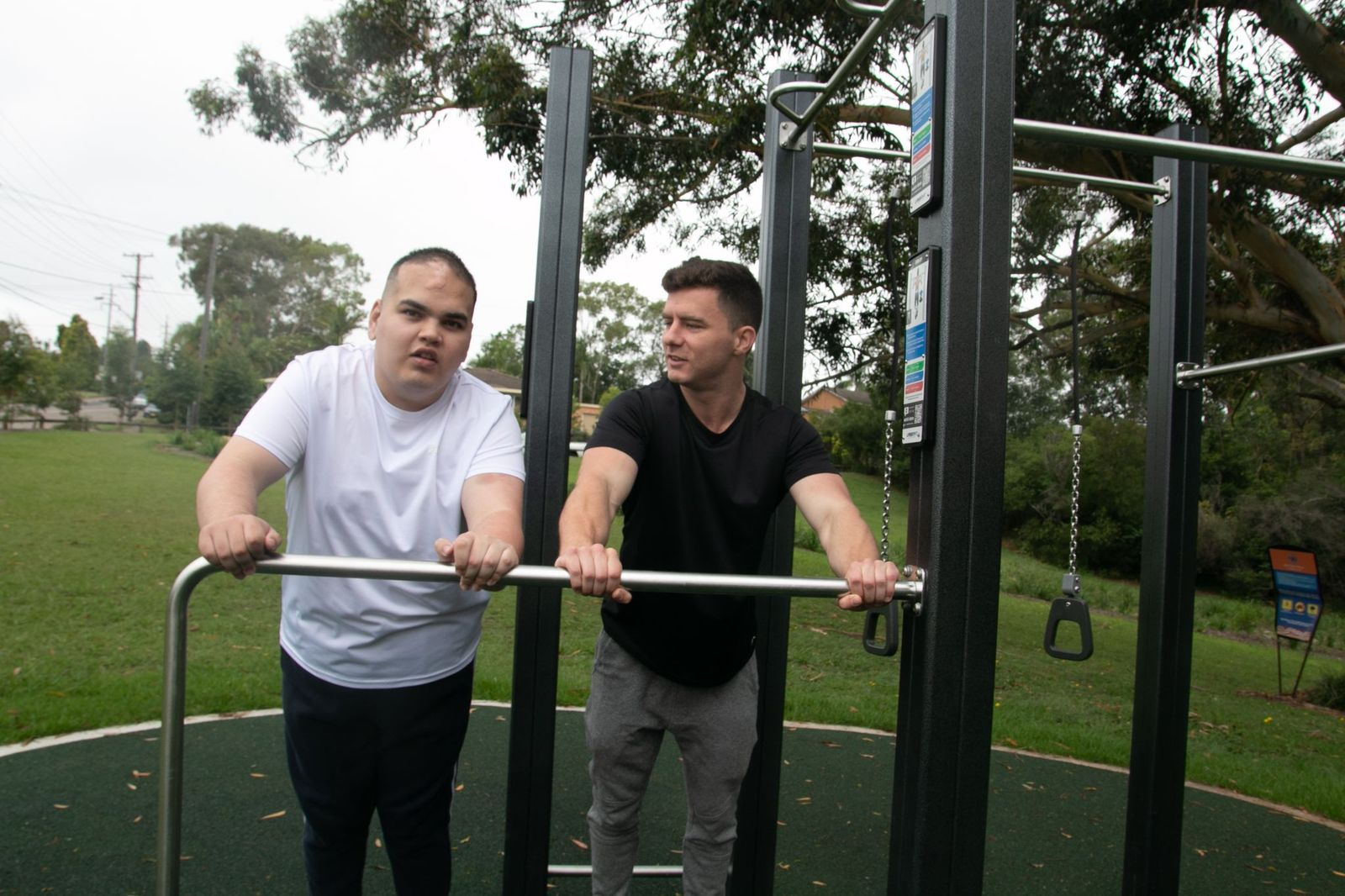Improving physical and mental health through fitness.;